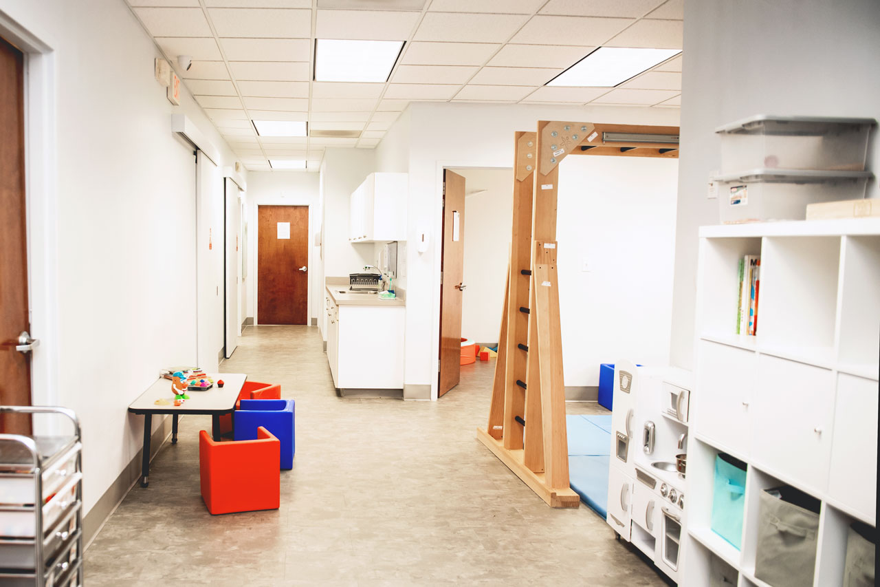lengthwise interior view of Carolina Therapeutics Fort Mill SC office