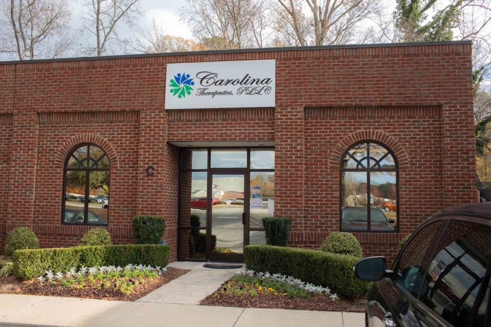 Carolina Therapeutics Greenville, NC exterior office space